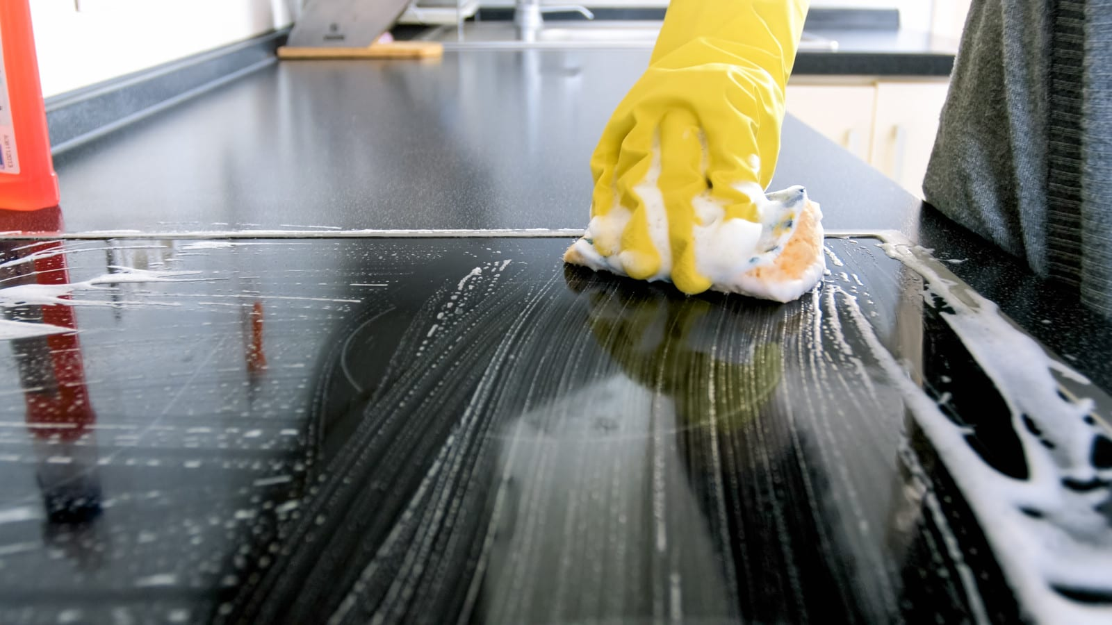 GIVE YOUR KITCHEN A PROFESSIONAL SPARKLE & SHINE WITH OUR RESIDENTIAL KITCHEN CLEANING SERVICES Does it seem that no matter how often you attempt to clean your kitchen it always gets dirty again? That's because the kitchen is usually the most high-trafficked area in your home. Dishes can quickly pile up, crumbs from prep work and cooked food fall on the counters and the floor. Countertops get smudged and the stove gets splattered. A kitchen that was clean in the morning can look a mess by the evening. But there's no reason you can't enjoy a clean kitchen without having to constantly do all the cleaning work yourself. Simply do what so many other homeowners in your area have done — hire professionals to give your beautiful kitchen the clean and shine it deserves! THOROUGH KITCHEN CLEANING SERVICES BY PROFESSIONALS A weekly kitchen cleaning delivers amazing results that show! Enabling you to truly benefit from a clean space to work in and enjoy. Our kitchen cleaning services take care of your kitchen from top to bottom — we'll mop the floors, scrub and sanitize the countertops, shine your appliances, wipe down your cabinets, remove splatters from microwaves, ovens, and cooktops, and when we're done, we'll empty the trash and leave your kitchen sparkling! Our professional team of residential home cleaners take great care to ensure any and all breakable items are handled gently, so you can rest assured that your kitchen and its contents will always be in good, capable hands. We also offer different levels of our cleaning service so you can choose the cleaning and the schedule that suits your needs best. LEAVE THE WORK TO US You kitchen should be a place you can enjoy cooking, eating, and spending time with family and friends. It shouldn't feel like a second job to get it clean and prepared. Take the time to relax and leave the hard work to us! We'll tackle the toughest messes and leave you a kitchen you'll be glad to spend the day in. We'll also be happy to develop a cu